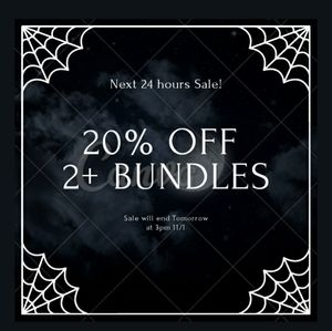 20% off 2+ Bundle Sale!!!